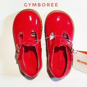 Gymboree red baby girl shoes 5 6 7